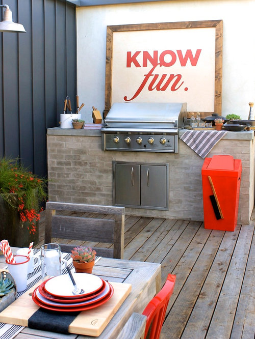 Built In Tile Top Bbq Grill Ideas Pictures Remodel And Decor