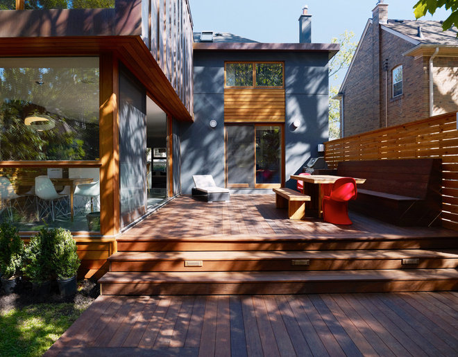 Contemporary Deck by Altius Architecture, Inc.