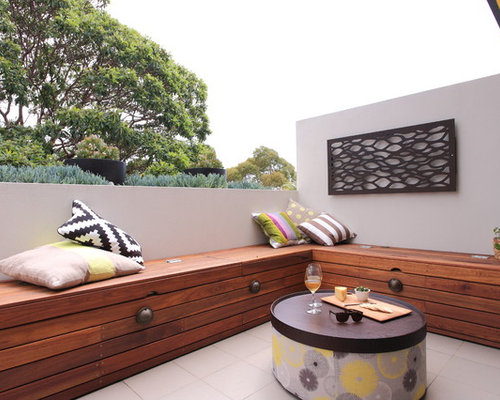 Balcony Seating Home Design Ideas Pictures Remodel And Decor