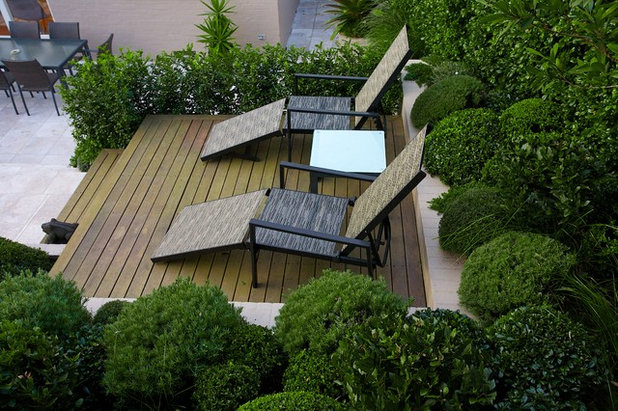 Contemporary Deck by Art in Green