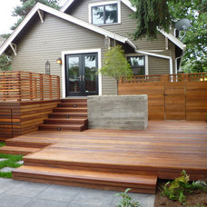 Traditional Deck by PLATFORM design studio