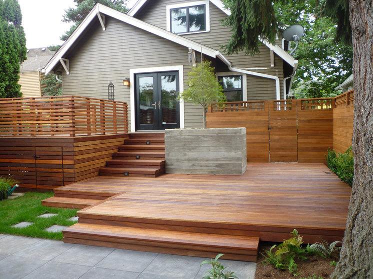 Traditional Deck by PLATFORM design studio