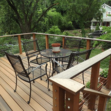 Contemporary Deck by MLM Home Improvement LLC