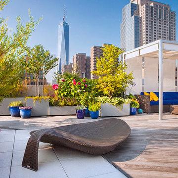 NYC Roof Terrace Garden