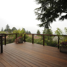 Contemporary Deck by Daniel M Swain, Architect