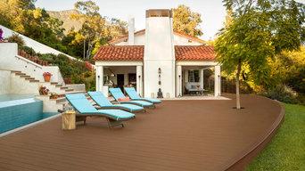 Ojai pool deck