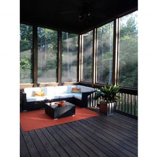 Contemporary Deck Orange