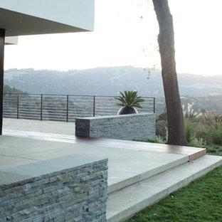 Ispirazione per una terrazza moderna