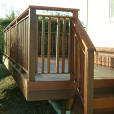 Traditional Deck by OC Deck & Patio