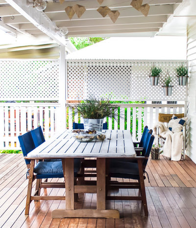 Traditional Deck by Rachael Honner Styling