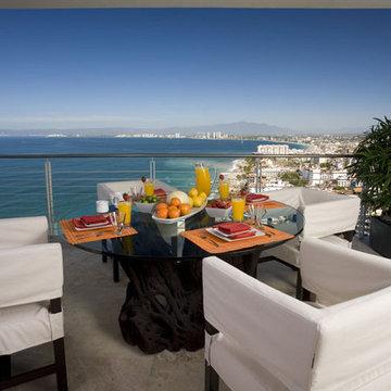 Outdoor Dining Table on Terrace - Puerto Vallarta, Mexico