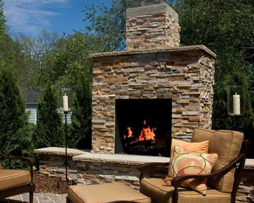 ... Outdoor Fireplace Kits ...