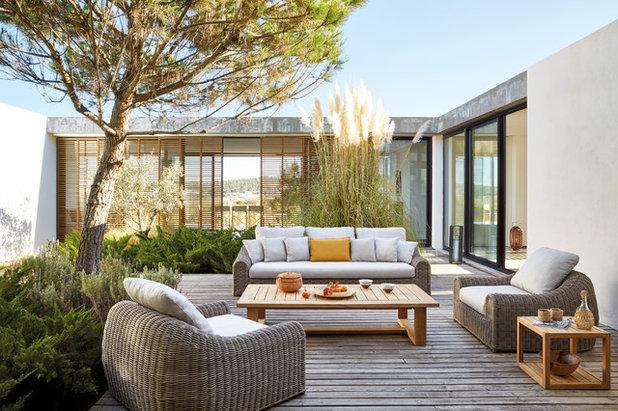 Klassisch modern Terrasse by McKenzie & Willis Christchurch