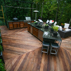 Contemporary Deck by Cabinets Of Atlanta Inc.