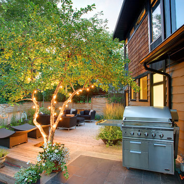 Outdoor Kitchens - Canyon Meadows Contemporary