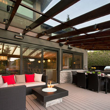 Contemporary Deck by My House Design Build Team