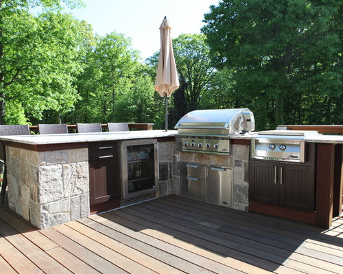 Outdoor living country fabulous outdoor kitchen for Country outdoor kitchen