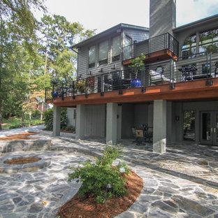 Inspiration for a craftsman deck remodel in Charlotte