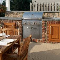 Traditional Deck by Renovations by Garman LLC