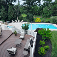 Contemporary Deck by Gehman Design Remodeling