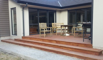 Outdoor living space in a new home, Dunedin