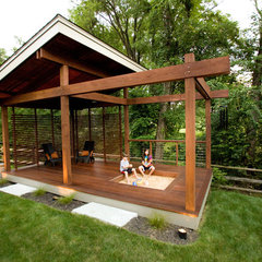 modern porch by Ryan Duebber Architect, LLC