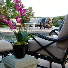 Traditional Deck by Kane Interior Design