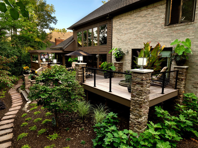Traditional Deck by Albrecht Wood Interiors