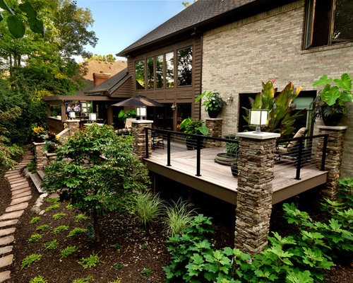 Stone Pillars Home Design Ideas Pictures Remodel And Decor