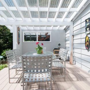 Foto di una terrazza tradizionale dietro casa