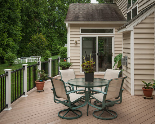 Deck design home design ideas pictures remodel and decor for Fiberon decking cost per square foot
