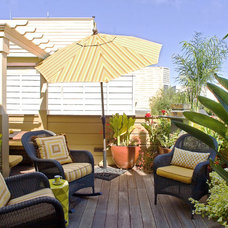 Transitional Deck by Adeeni Design Group