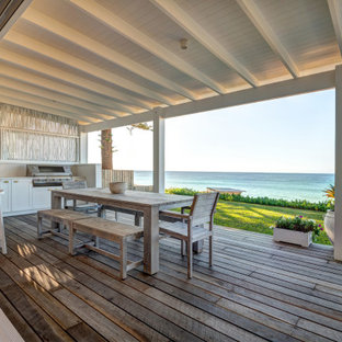 This is an example of a beach style deck in Central Coast.