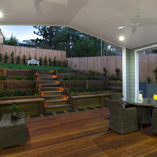Traditional Deck by Luke Murray Builder