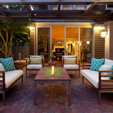 Craftsman Deck by Justin Pauly Architects