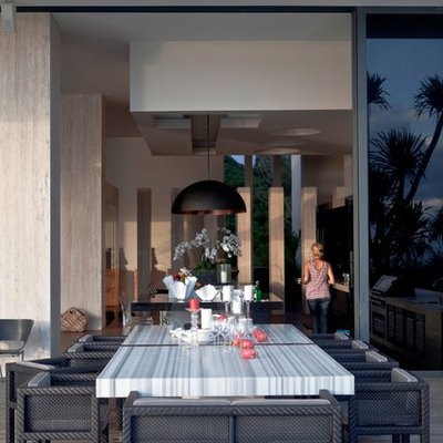 Inspiration for a modern deck remodel in Other