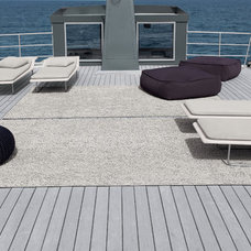 Beach Style Deck by escale design