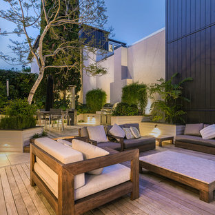 Parnell Basin Townhouse - Outside Dining + Living