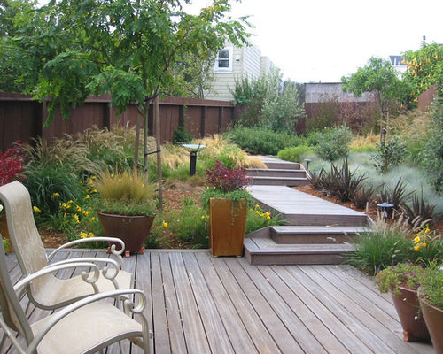 Small Decked Garden Ideas find this pin and more on small garden courtyard ideas Small Backyard Deck Ideas Houzz