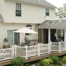 Traditional Deck by Patio Enclosures by Great Day Improvements, LLC