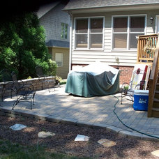 Traditional Deck by Kolby Construction Company