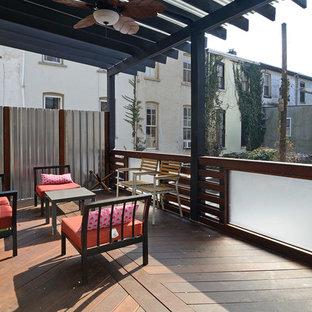 Esempio di terrazze e balconi boho chic