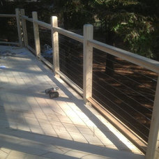 Transitional Deck by Locust Lumber Company, Southern Pines