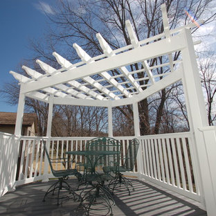 Triangle Pergola Houzz