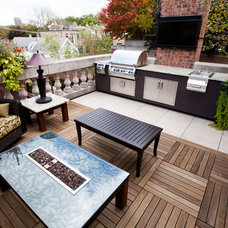 Transitional Deck by Chicago Green Design Inc.