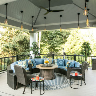75 Transitional Deck Design Ideas Stylish Transitional