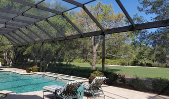 Picture Window Pool Screen Enclosure