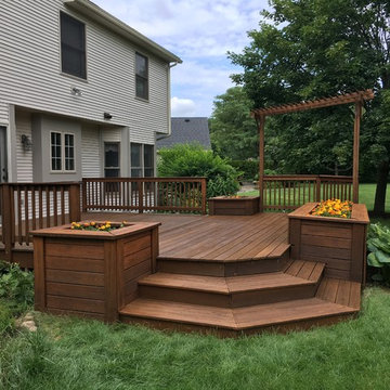 Pittsford Deck stain