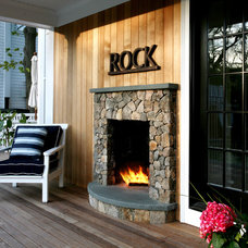 Rustic Deck by ARCHIA HOMES