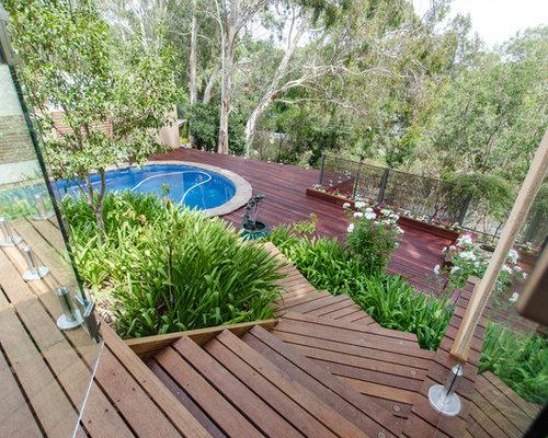 terrasse gestalten mediterran: mit betonsteinen kann man terrasse, Garten und Bauen